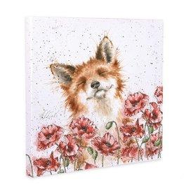 Wrendale Designs 'Poppy Field' Canvas