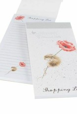 Wrendale Designs 'Poppy' Shopping Pad - Magnetic