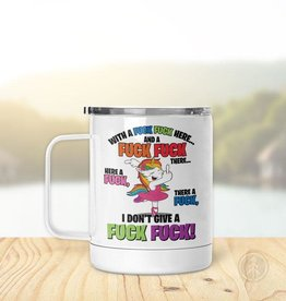 Pinetree Innovations Insulated Mug - With A F*ck F*ck