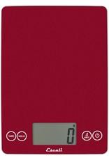 Arti Glass Digital Scale Retro Red 17Kg/15lb