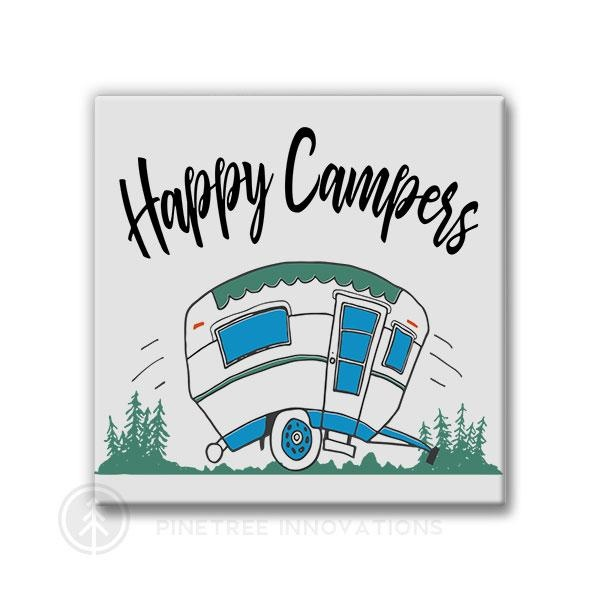 Pinetree Innovations Magnet - Happy Campers