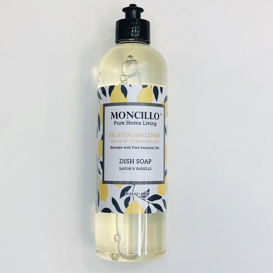 Moncillo Pure Home Living Dish Soap - Fig & Lemon 473ml