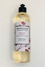 Moncillo Pure Home Living Dish Soap - Rose Musk 473ml