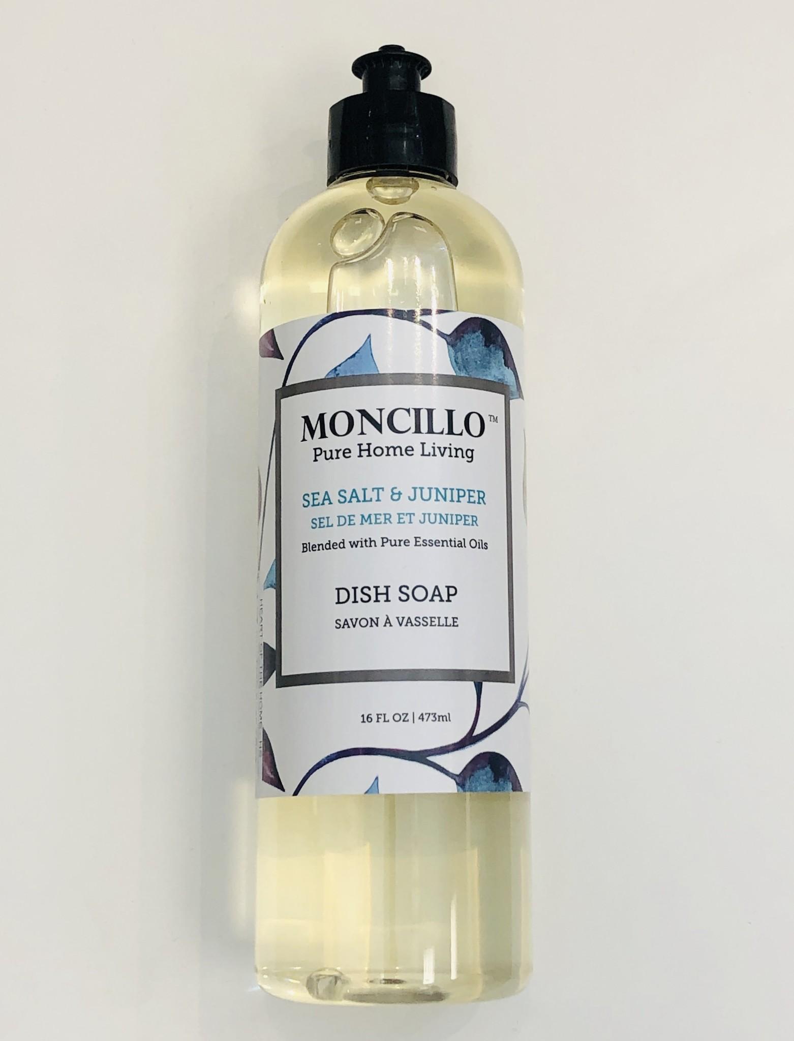 Moncillo Pure Home Living Dish Soap - Sea Salt & Juniper 473ml