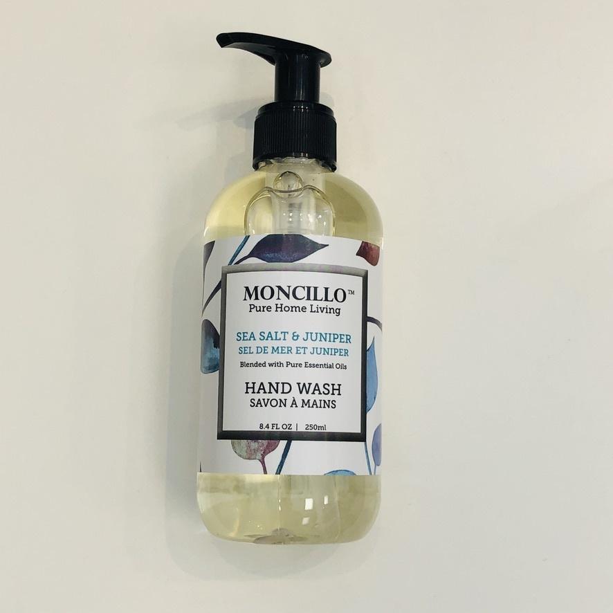 Moncillo Pure Home Living Hand Soap - Sea Salt & Juniper 220ml