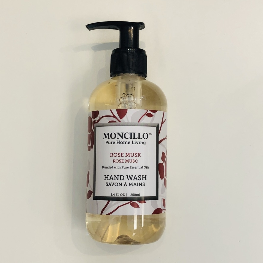 Moncillo Pure Home Living Hand Soap - Rose Musk 220ml