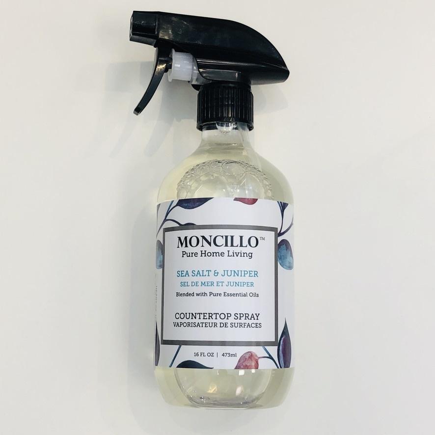 Moncillo Pure Home Living Counter Top Spray - Sea Salt & Juniper 473ml