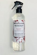 Moncillo Pure Home Living Linen & Room Spray - Rose Musk 473ml