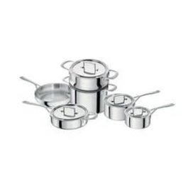 Zwilling J.A. Henckels Sensation 10pc 18/10 Stainless Steel Cookware Set