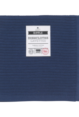 Now Designs Ripple Dishcloths - Indigo S/2