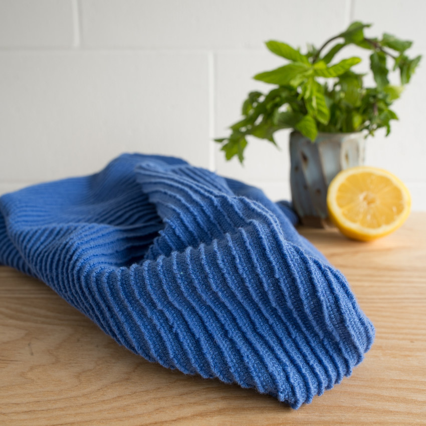Now Designs Ripple  Dish Towel - Royal