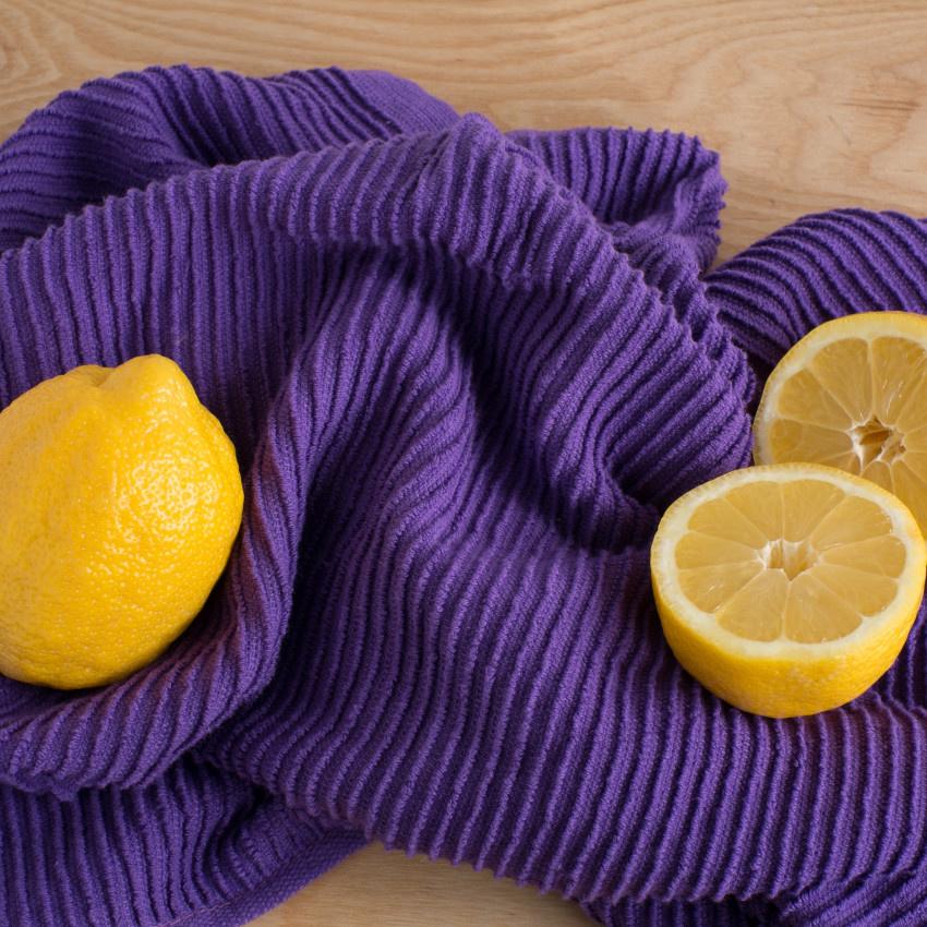 Now Designs Ripple Dish Towel - Prince Purple