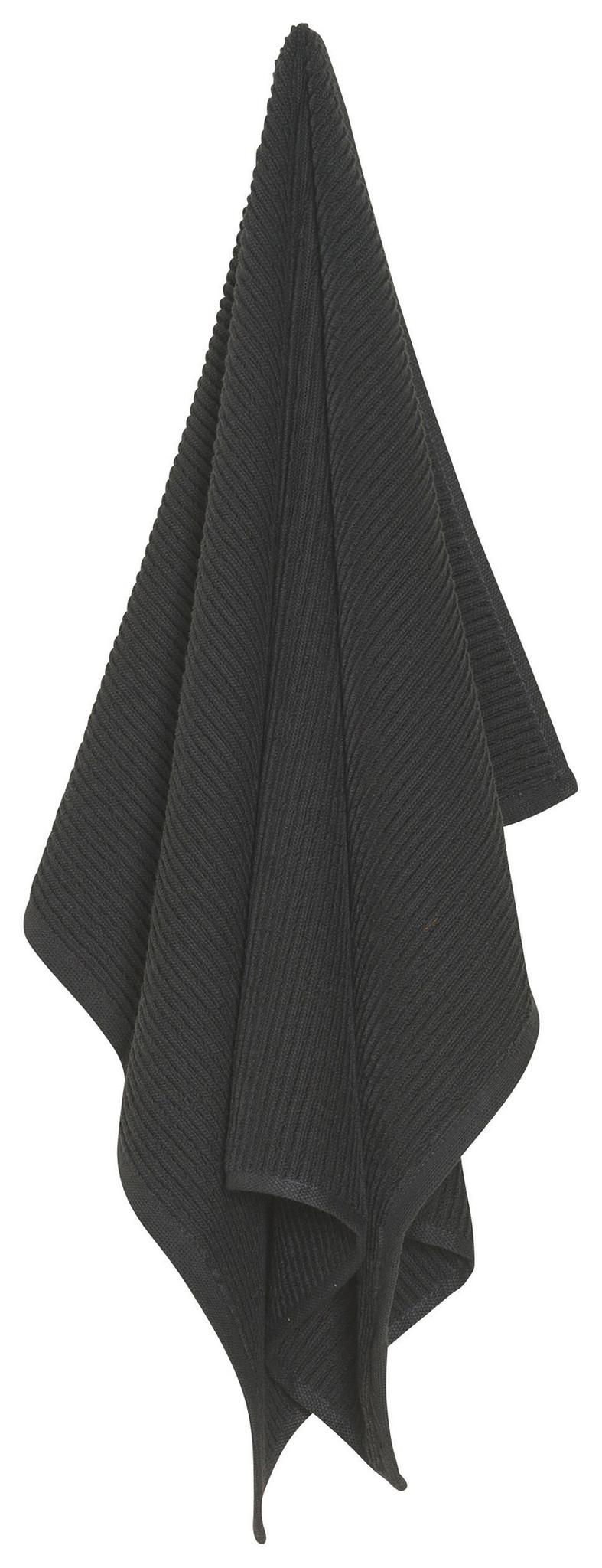 Now Designs Ripple Dish Towel - Black