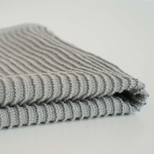 Now Designs Ripple Dish Cloths - London Gray S/2