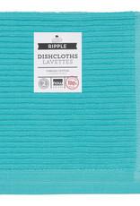 Now Designs Ripple Dishcloths - Bali Blue S/2