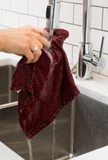 Now Designs Ripple  Dishcloths - Carmine S/2