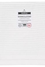 Now Designs Ripple Dishcloths  - White S/2