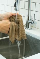 Now Designs Ripple Dishcloths - Sandstone S/2