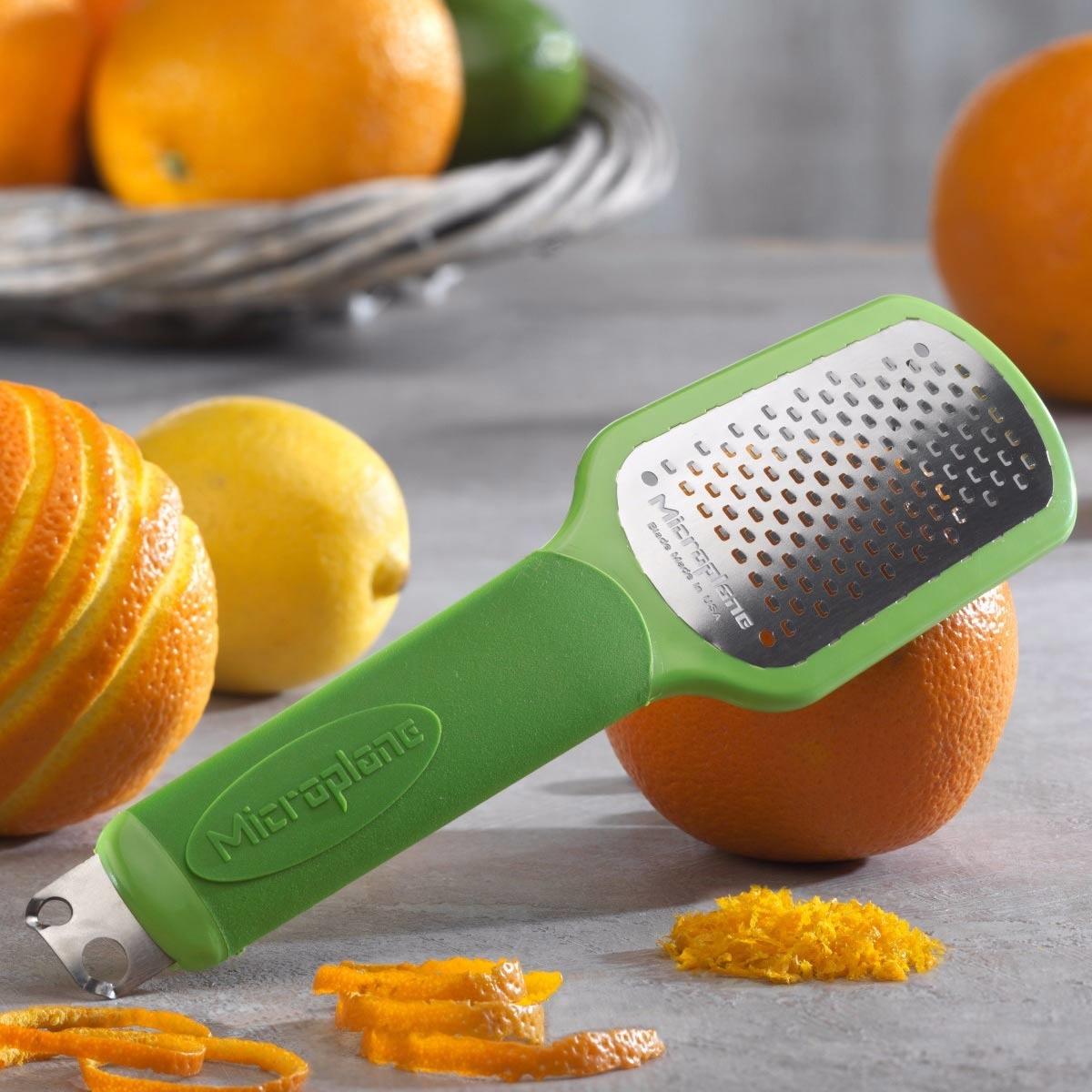 Microplane Ultimate Citrus Tool 2.0 - Bar Zester & Garnish Tool