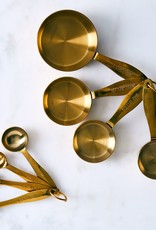 Measuring Spoons S/4 - Gold
