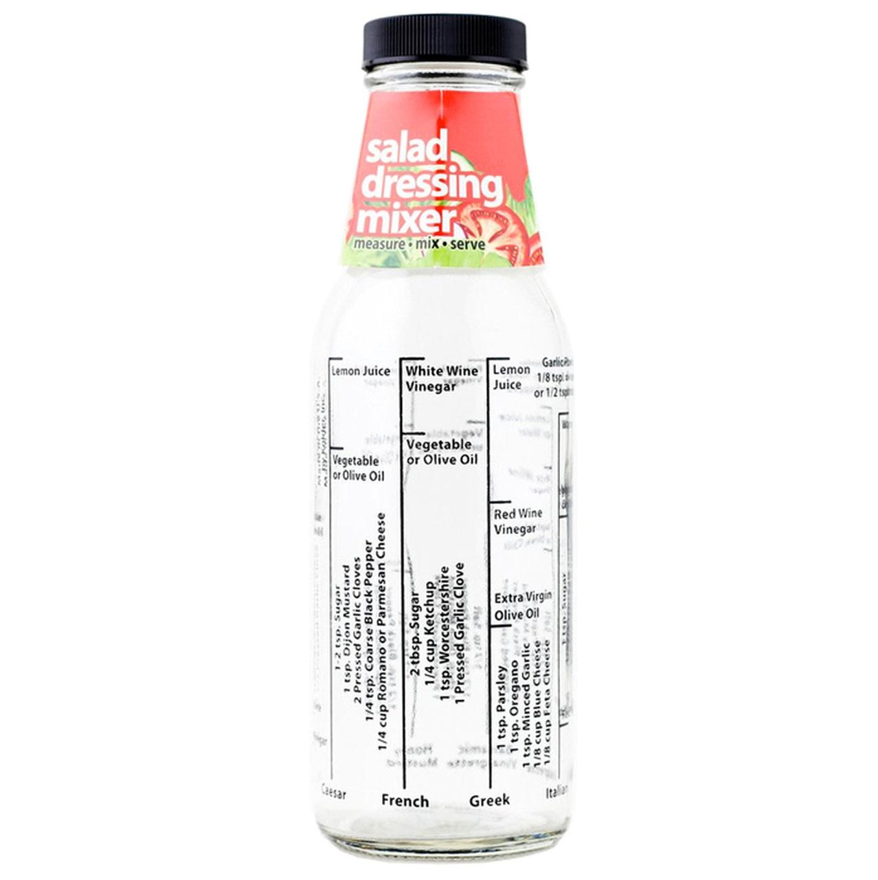 Salad Dressing Bottle Mix & Serve