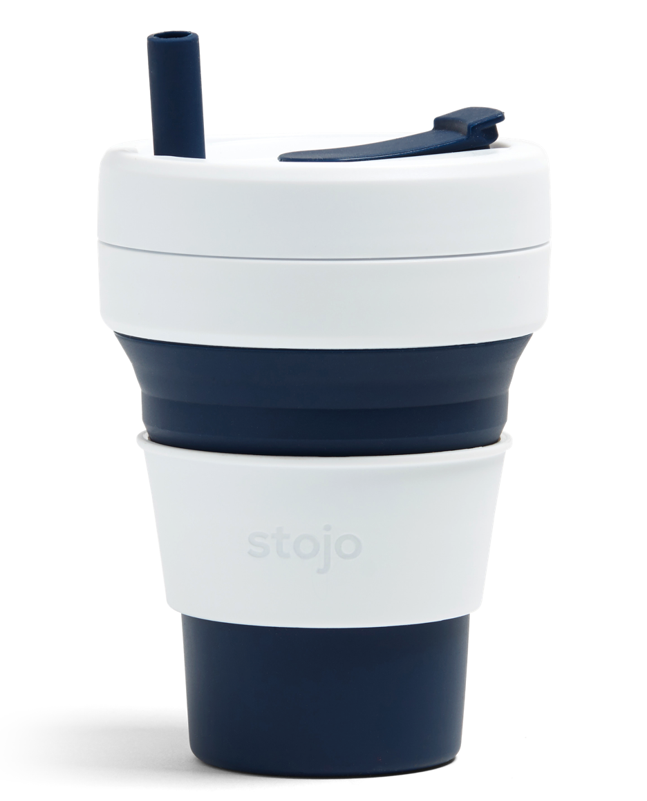 Stojo Biggie Cup 16oz - Indigo