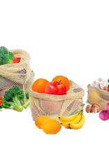 Danesco Cotton Mesh Produce Bags 3pk S,M,L