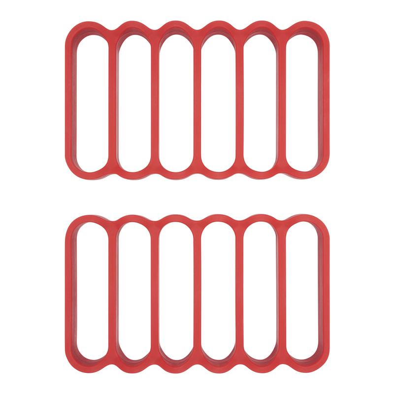 OXO Good Grips Rect Silicone Roasting Racks S/2