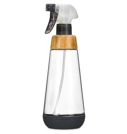 Glass Spray Bottle 473ml/16oz - Grey