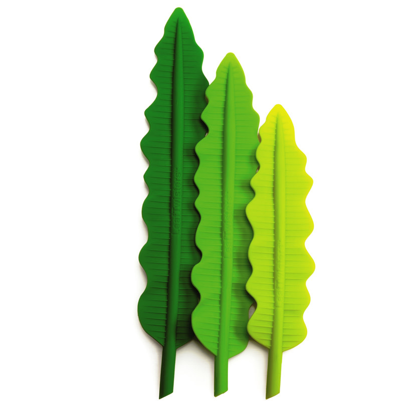 Fusionbrands Leaf Twisters S/3 - Assorted