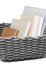 Woven Storage Basket - Grey