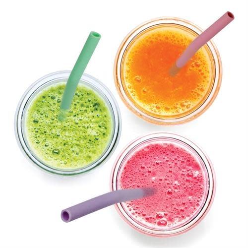 Danesco Silicone Straw - Single - Assorted Colours