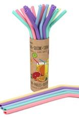 Danesco Reusable Silicone Straw - Single