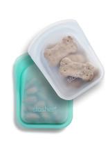 Set of 2 - Pocket Bags - Aqua/Clear