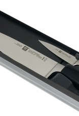 """ZWILLING Four Star 2pc Set  8"""" Chef's & 4"""" Paring"""