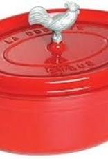 Staub Coq Au Vin Oval Cocotte 5.5L/5.75qt Cherry