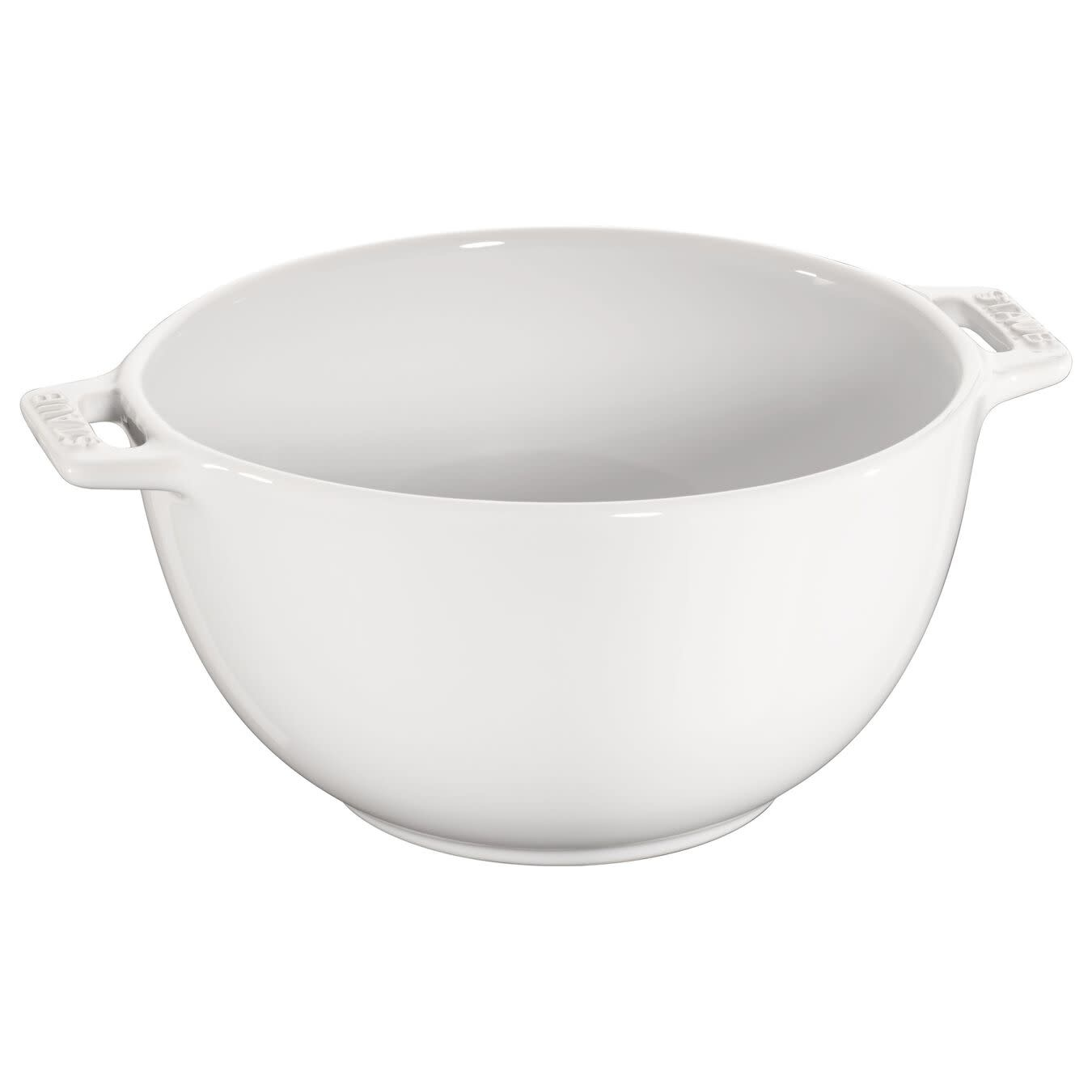 "Staub Serving Bowl Small 18cm/7"" - White"