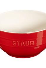 "Staub Bowl Large Cherry 17cm/6.5"" 1.2L/1.3qt"