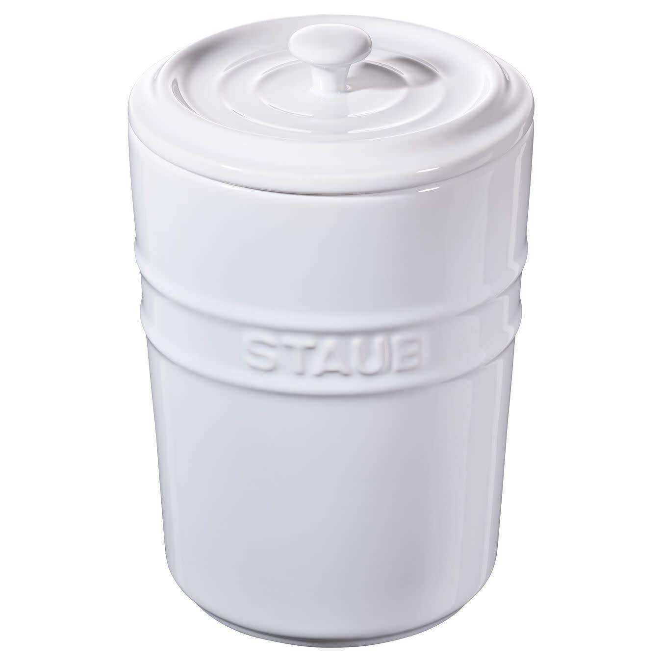 Staub Storage Pot 1.0L White