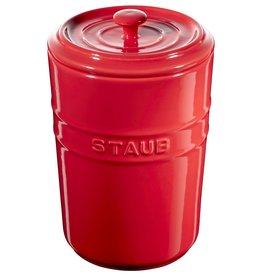 Staub Storage Pot 1.0L Cherry