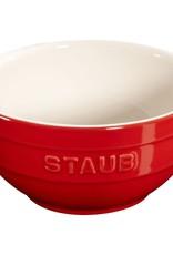 "Staub Bowl Small 12cm / 4.75"" Cherry"
