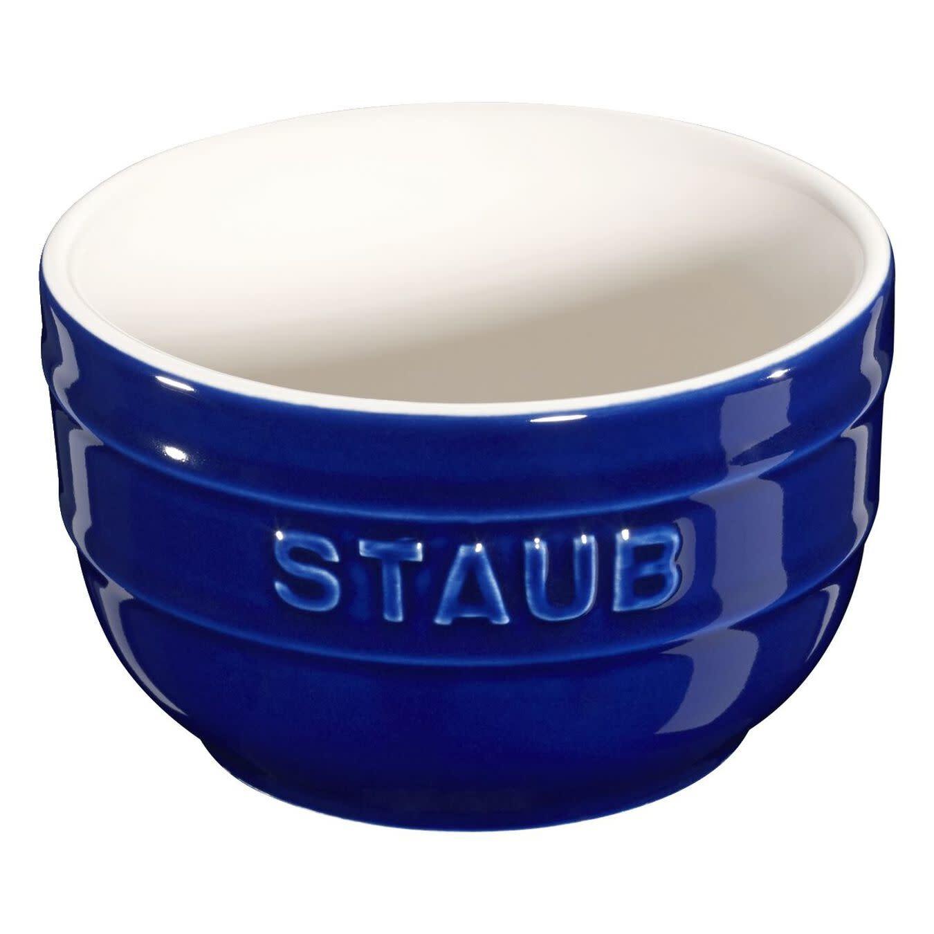 Staub Ramekin Set 2pc 235ml / 0.25qt  Blue