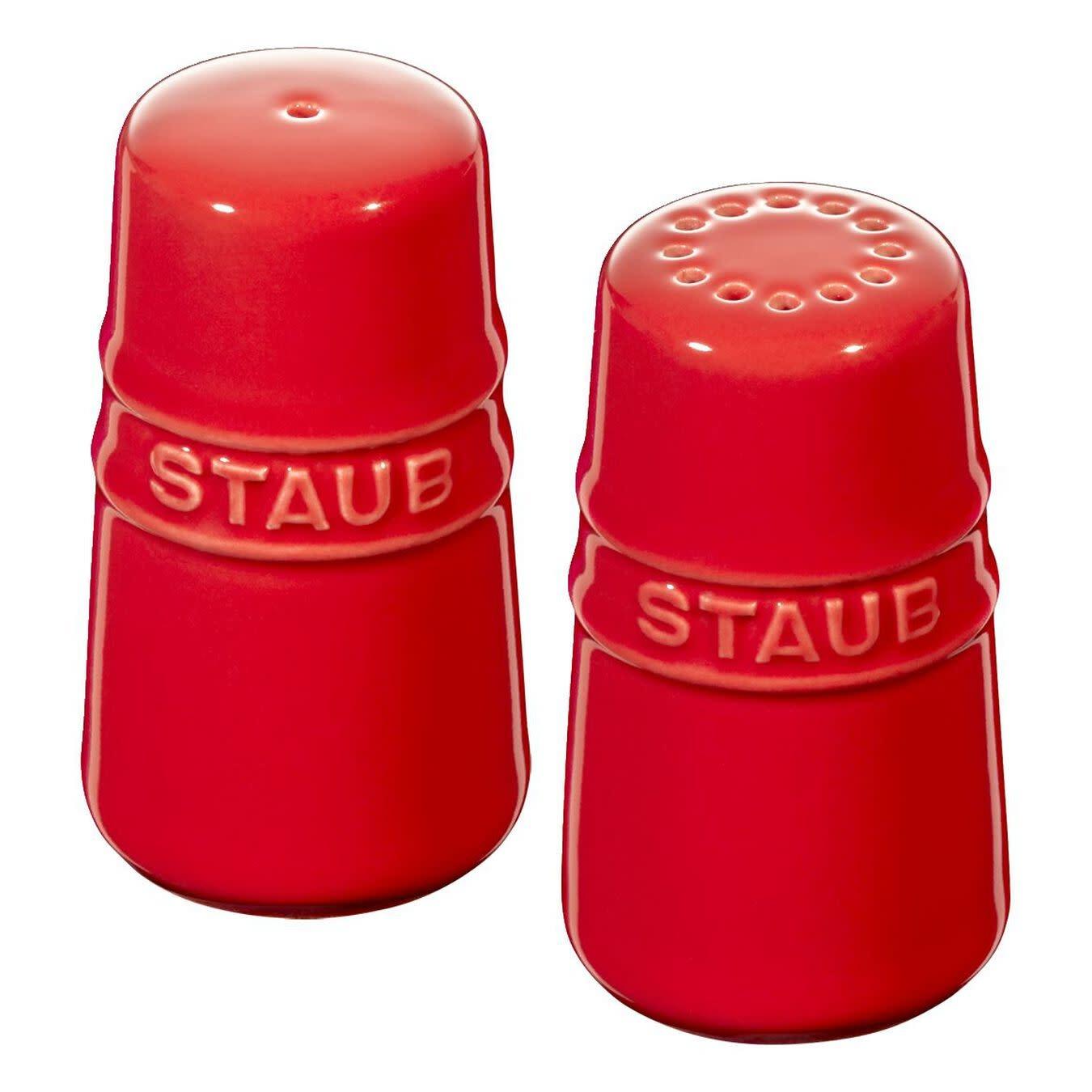 "Staub Salt & Pepper Shakers 7cm / 2.8"" Cherry"