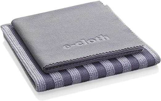 E-Cloth Stainless Steel Cleaning Cloths - S/2