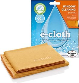 E-Cloth Window Cleaning Cloths - S/2