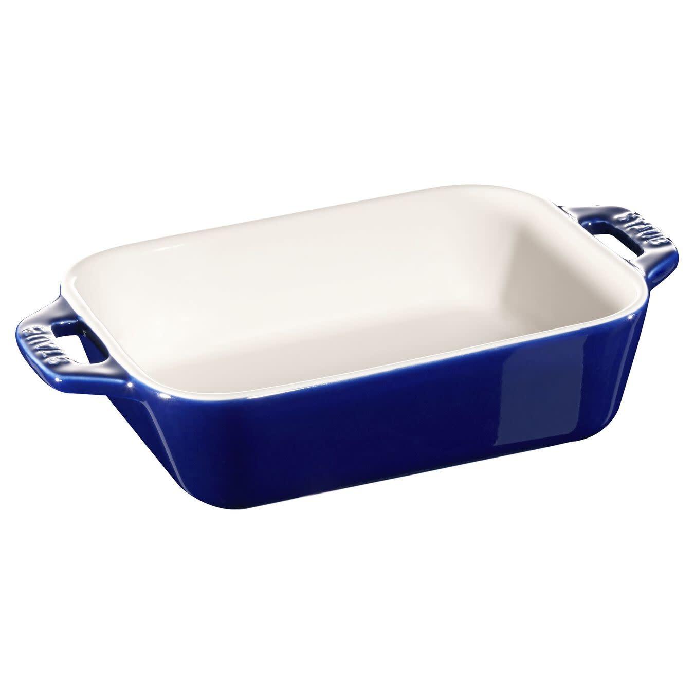 "Staub Rectangular Baking Dish Blue 14x11cm/5.5""x4"""