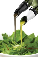 Adjustable Oil & Vinegar Pourer/ Stopper S/2