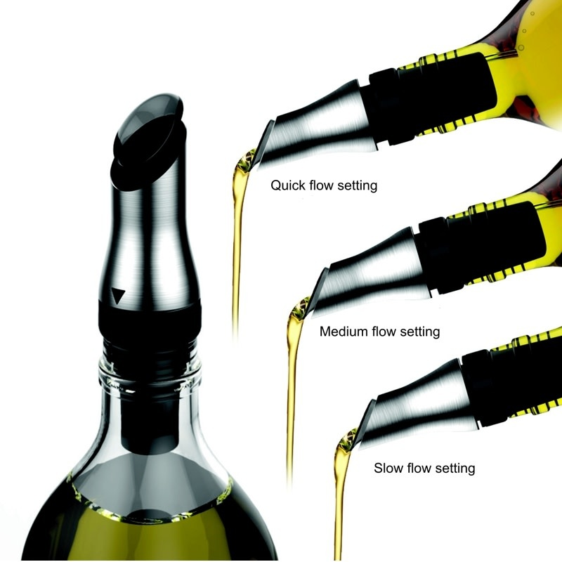 Adjustable Oil Pourer/Stopper