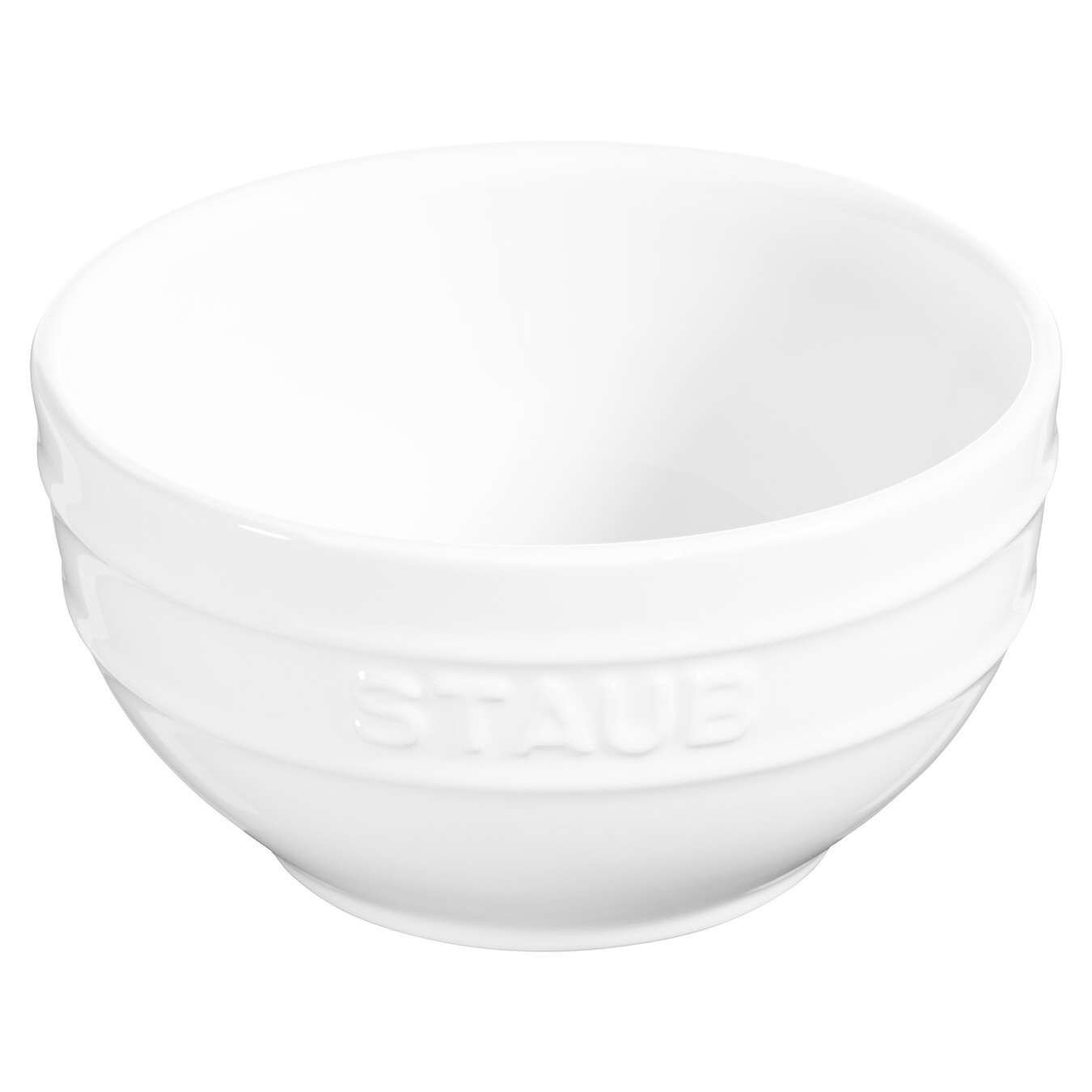 "Staub Bowl Medium White 14cm/5.5"" /14cm 0.7L/0.74qt"