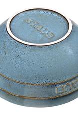 "Staub Bowl Large R Turq 17cm/6.5"" 1.2L/1.3qt"